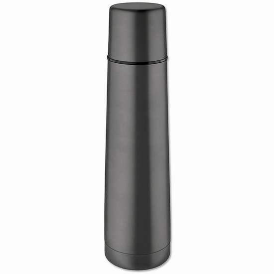 Isosteel VA-9554QAT 900ml 双层真空不锈钢保温杯3.3折 9.99加元限量特卖!
