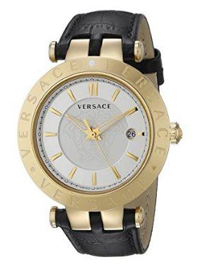 历史新低!Versace 范思哲 VQP040015 V-Race 男士时尚腕表/手表3折 511.99加元包邮!