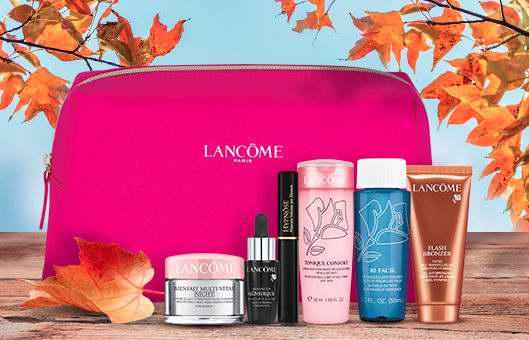 精选 Lancome 护肤品,香水超值套装及单品 7折特卖,满65加元送6件大礼包!