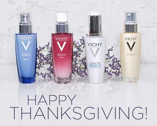 Vichy 薇姿 全场满60加元享受8折优惠+再送3件套礼包!