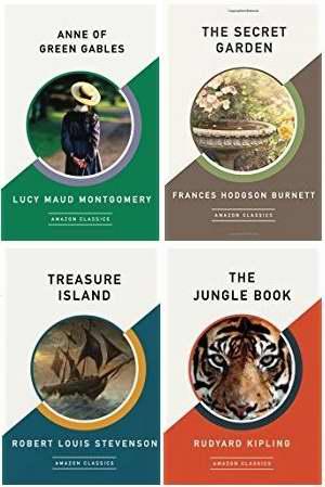 金盒头条:精选34款 Amazon Classics 出版经典小说3.3折起特卖!