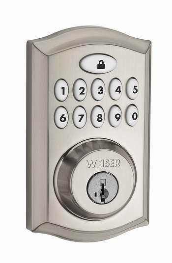 金盒头条:历史新低!Weiser SmartCode 10 电子密码门锁 129.99加元包邮!