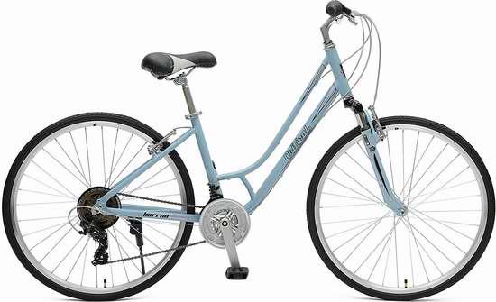 售价大降!历史新低!Critical Cycles Barron Hybrid 21速 女式小号 变速自行车/山地车 136.35加元包邮!