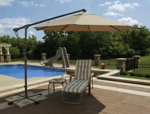 历史新低!Blue Wave Trinidad 10英尺八角形悬臂庭院遮阳伞2.1折 168.38加元清仓并包邮!