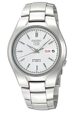 近史低价!Seiko 精工5号 SNK601 男式自动机械腕表/手表 66.04加元包邮!
