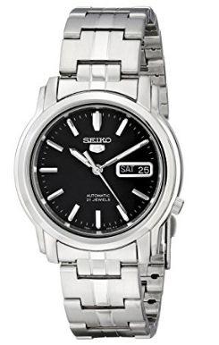 历史新低!Seiko 精工5号 SNKK71 男式自动机械腕表/手表 64.53加元包邮!