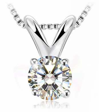 J.Rosée 闪耀 纯银水晶项链1.8折 25.87加元限量特卖并包邮!