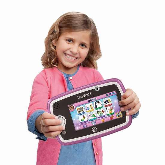 历史新低!Leapfrog 跳蛙 Leappad3 儿童早教学习平板电脑5.3折 69.99加元包邮!两色可选!