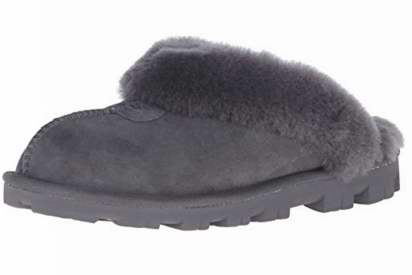 UGG Coquette 皮毛一体 女士保暖拖鞋(6码)5.1折 83.14加元包邮!