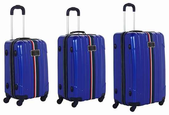 Tommy Hilfiger Lochwood 全PC 超轻拉杆行李箱3件套 210.09加元包邮!