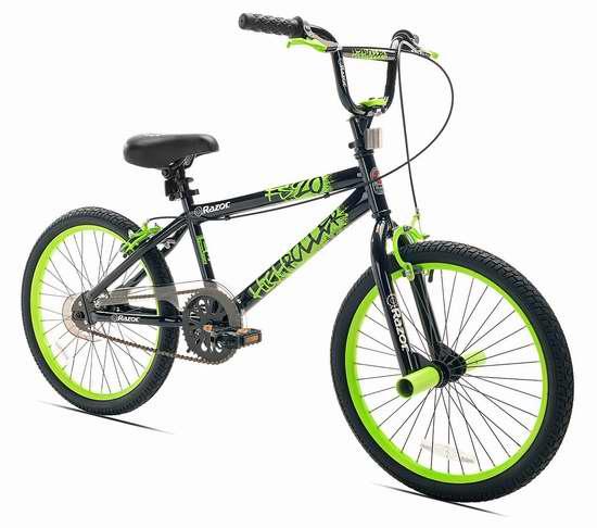 历史新低!Razor High Roller 20英寸自由式BMX自行车 110.86加元包邮!
