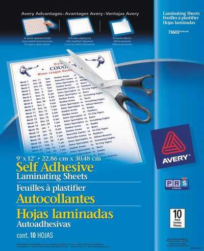 金盒头条:Avery 73603 自粘式文件保护贴膜10件套 8.33-9.8加元!