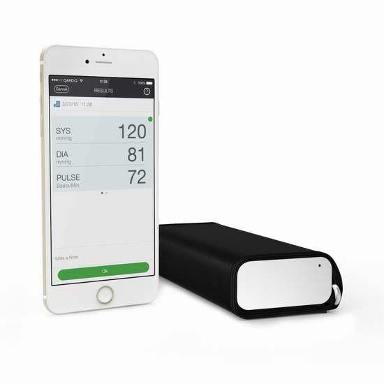 售价大降!历史新低!Qardio QardioArm 无线智能血压计4.7折 67.68加元包邮!