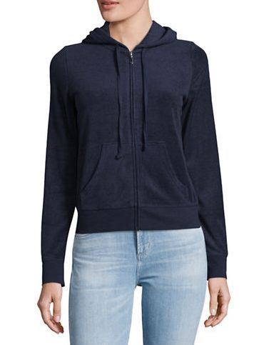 JUICY COUTURE Micro-terry 拉链式夹克 41.4加元(小码),原价 138加元