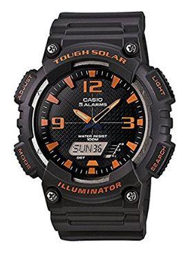 历史新低!Casio 卡西欧 AQS810W-8AV 男士太阳能运动腕表/手表4.2折 25.68加元!