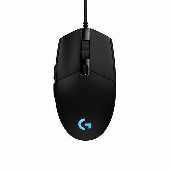历史新低!Logitech 罗技 G203 Prodigy 游戏鼠标5折 29.99加元!