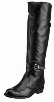 白菜价!FRYE Dorado 女式真皮长筒靴(6.5码)2.3折 132.1加元包邮!