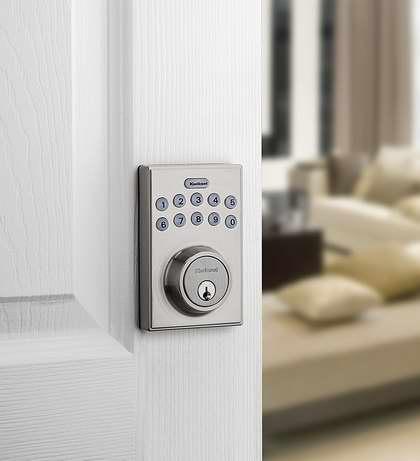 近史低价!Kwikset 92640-001 电子密码门锁 47.04加元包邮!