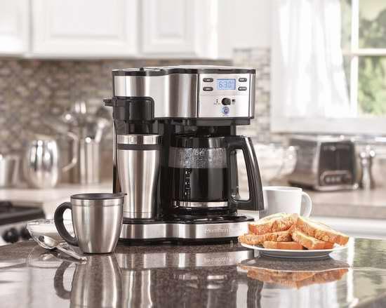 近史低价!Hamilton Beach 49980A 智能双模式咖啡机5.9折 65.46加元包邮!