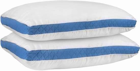 网购周专享:Utopia Bedding 防过敏King枕头2件套 27.99加元!