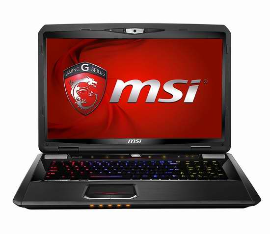 历史新低!MSI 微星 GT70 2PE-1040US Dominator Pro 统治者系列 17.3英寸游戏笔记本电脑 1313.34加元包邮!