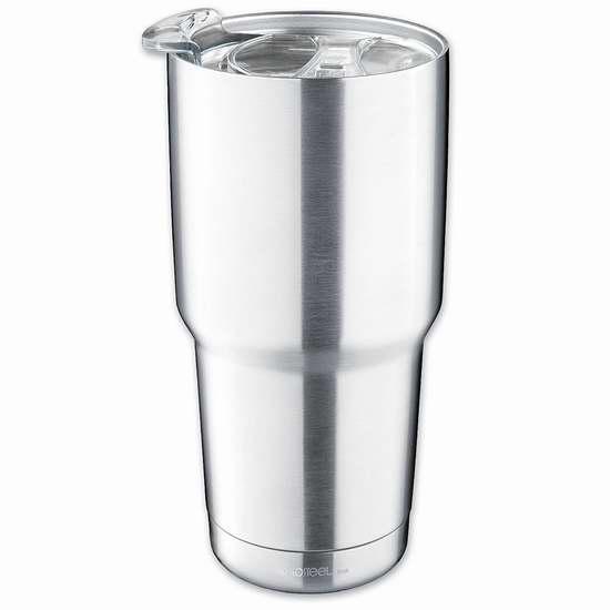 Isosteel 900毫升 双层真空不锈钢保温杯5.6折 9.99加元限量特卖!