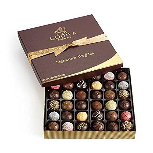历史新低!Godiva 歌帝梵 Chocolatier Signature 松露巧克力36颗7.3折 69.07加元包邮!