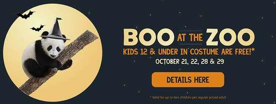 Toronto Zoo 多伦多动物园万圣节活动,12岁以下儿童可免费入园!