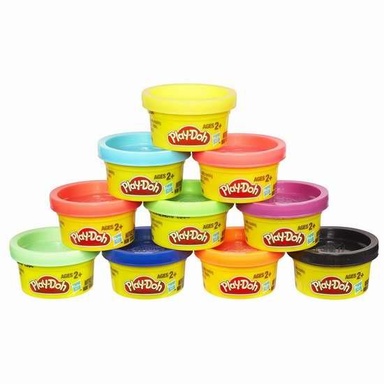 Play-Doh 培乐多 橡皮彩泥10色套装 5加元!