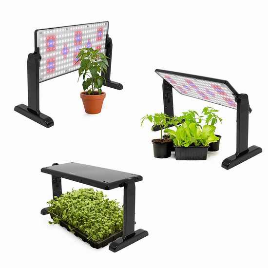 金盒头条:历史最低价!AeroGarden LED 植物快速生长灯面板6.2折 99.95加元包邮!