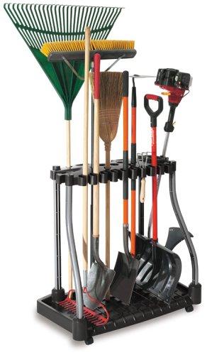 历史新低!Rubbermaid 豪华可移动式 40庭院工具收纳架3.6折 49.99加元包邮!