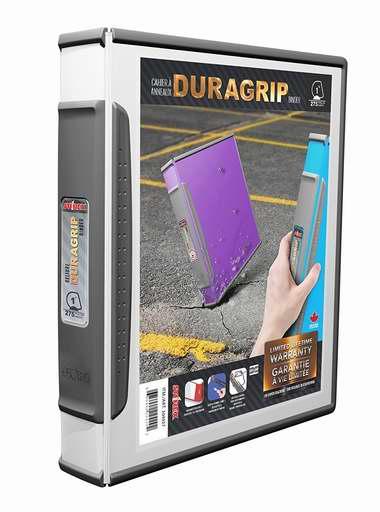 历史新低!Storex DuraGrip 1英寸 D环文件夹2件套1.6折 7.45加元清仓!