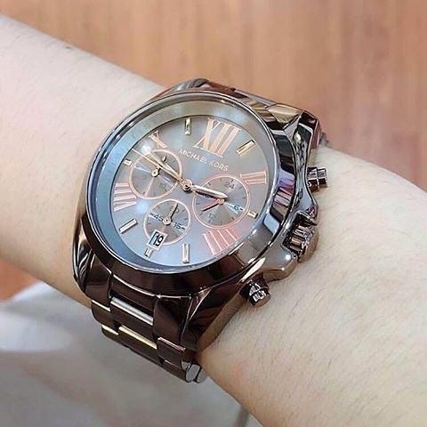历史新低!Michael Kors MK6247 三眼计时 中性腕表/手表5.2折 161.65加元包邮!