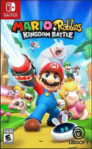 金盒头条:历史新低!任天堂《Mario + Rabbids Kingdom Battle 马里奥+疯兔:王国之战》Switch版6.2折 49.99加元包邮!