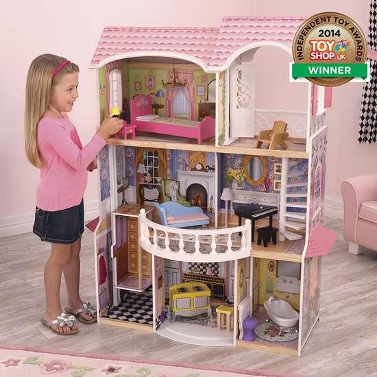 KidKraft Magnolia Mansion 梦幻童话玩具娃娃屋5.2折 169.65加元包邮!