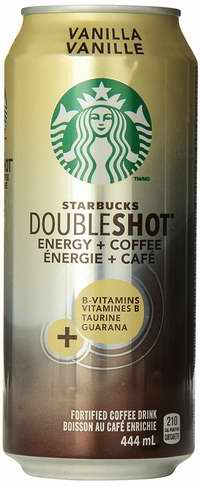 历史新低!Starbucks 星巴克 Double Shot 香草味 能量增强咖啡饮料(444mlx12罐)6.7折 23.88加元!