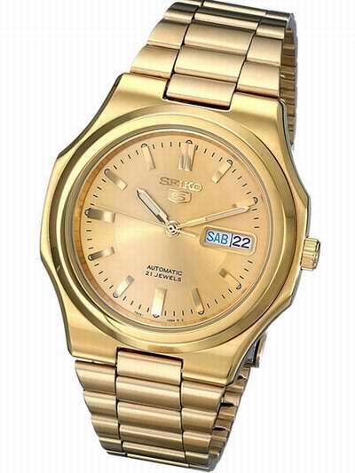 历史新低!Seiko 精工5号 SNKK52 男式金色自动机械腕表/手表 99.87加元包邮!