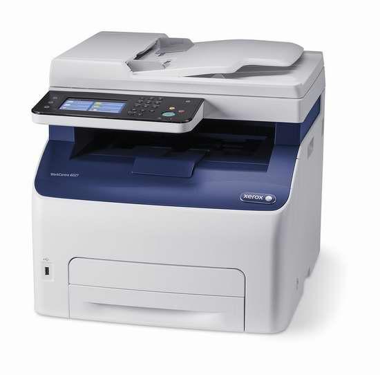 金盒头条:历史新低!Xerox 施乐 WorkCentre 6027/NI 多功能一体 无线彩色激光打印机3.3折 199.99加元包邮!