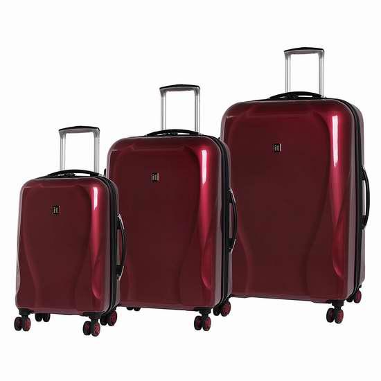 白菜价!历史新低!IT Luggage Corona 轻质硬壳 可扩展拉杆行李箱3件套1.3折 129.99加元包邮!3色可选!