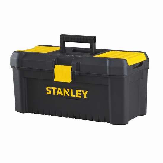 白菜价!历史新低!STANLEY STST16331 16英寸家用工具箱2.4折 7加元清仓!
