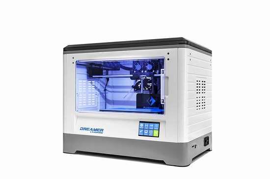 金盒头条:Flashforge 闪铸 Dreamer 梦想家 3D打印机 1237加元包邮!