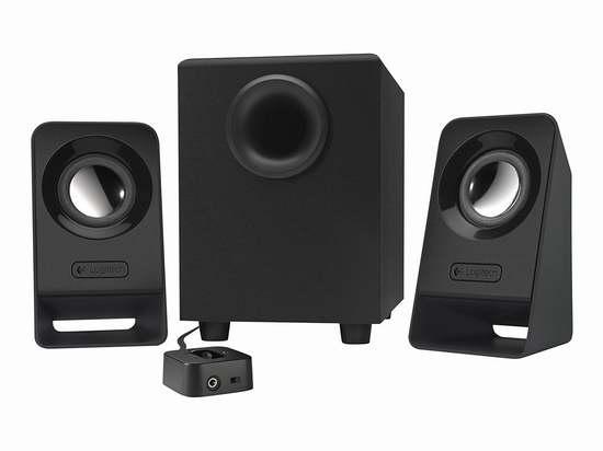 历史最低价!Logitech 罗技 Z213 2.1声道多媒体音箱5.9折 29.7加元!