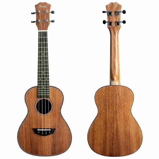 历史最低价!Mugig Concert Ukulele 23寸夏威夷小吉他/尤克里里 53加元特卖并包邮!