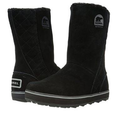 历史新低!Sorel Glacy 女式雪地靴(5码)3折 48.88加元包邮!