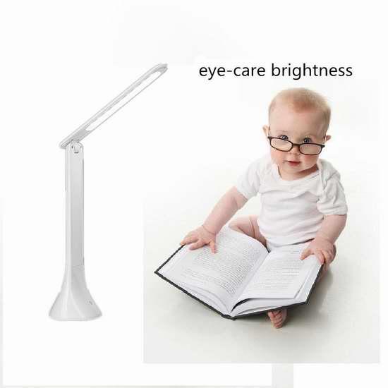 历史新低!Gemdragon 大容量可充电折叠式护眼台灯 11.99加元!