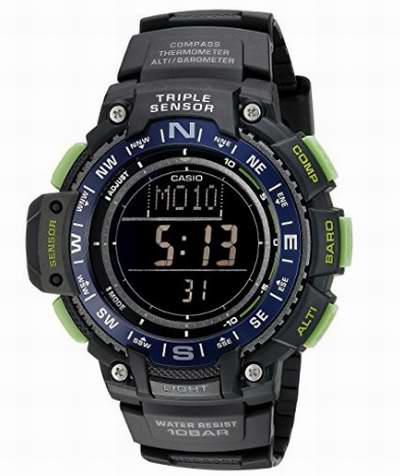 历史新低!Casio SGW-1000-2BCF  男士户外运动腕表 81.65加元,原价 144.81加元,包邮