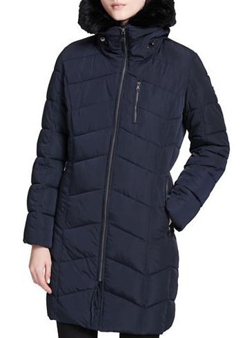 精选 3款 CALVIN KLEIN Faux Fur 保暖外套/防寒服 129.99加元,原价 398加元,仅限今天!