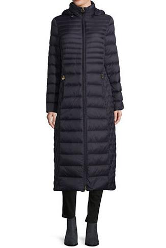 MICHAEL KORS长款保暖外套 227.5加元(2色),原价 325加元,包邮