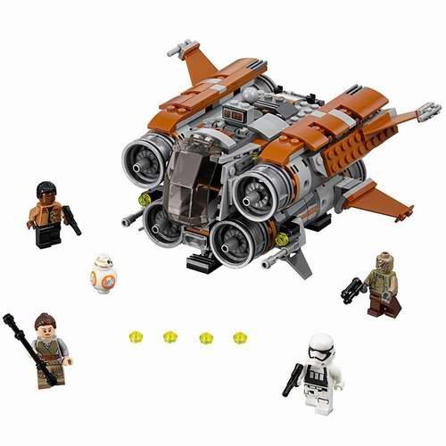 LEGO 乐高 75178 星球大战 贾库四跃飞船 45.49加元,原价 64.99加元,包邮