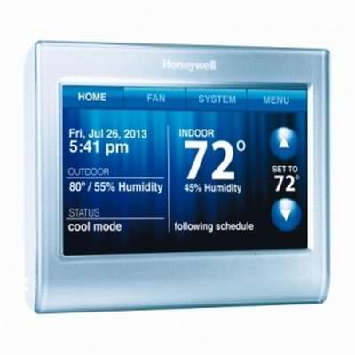 Honeywell RTH9580WF 智能Wi-Fi彩色触摸屏 可编程温控器 120加元,原价 239加元,包邮